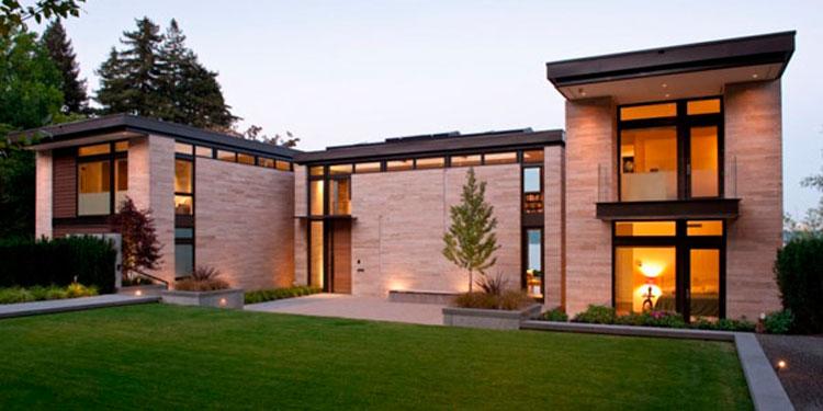 Как облицевать фасад натуральным камнем?